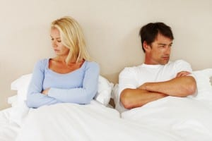Sexual problems in married life